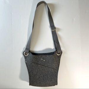 Ibex Recycled Felted Wool Scrap Crossbody Handbag